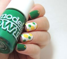 Pineapple nails!