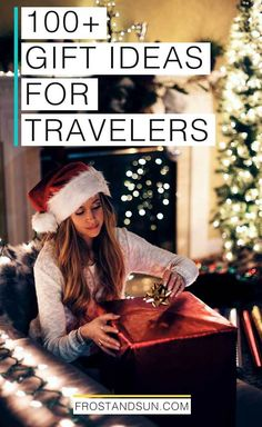 Whether it's Christmas, a birthday, or another gift-giving occasion, rest assured that you'll find the best gift ideas for travelers in this epic, comprehensive guide. I've got ideas for business travelers, budget travelers, luxury travelers, Disney World and Disneyland fans, travel photography gifts, and so much more. #travelgifts #christmasgifts #giftideas #giftsfortravelers #holidaygifts #birthdaygifts #giftsforwomen #giftsformen