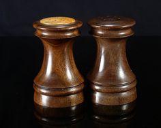 Wood Turned Salt & Pepper Shaker Set