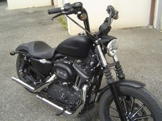 "Iron w/ 12"" Mini Apes Harley Davidson 883, Iron 883, Sidecar, Bobbers, Baron, Bike Life, Motorcycle Parts, Cars And Motorcycles, Motorbikes"