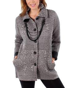Cute Silver Metallic Quilted Jacket