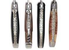 #Authentic French #knives by Laguiole en Aubrac,  at #NYNOW, French Pavilion