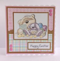 Fizzy moon Easter card - such a cute card