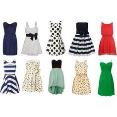 I love summer dresses.