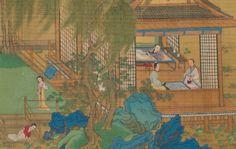 Qiu Ying (Chiu Yin), Ming Dynasty , 蓬莱仙奕