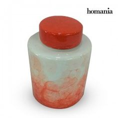 Tibor Stoneware Red (14 X 14 X 19 Cm) By Homania
