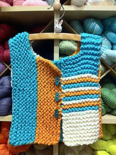 Ravelry: MaryBethK's Toddler Vest - No pattern - just idea.