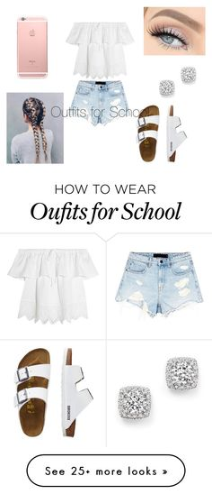 """School"" by mackwurd on Polyvore featuring Madewell, Alexander Wang, TravelSmith and Bloomingdale's"
