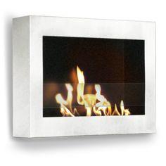 Anywhere Fireplace SoHo - Wall Mounted Ethanol Fireplace - 3 Colors
