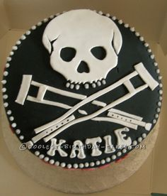 Coolest Jackass Birthday Cake... This website is the Pinterest of birthday cake ideas