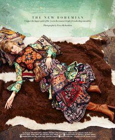 Harper's Bazaar US March 2015   Sasha Luss by Terry Richardson [Editorial]