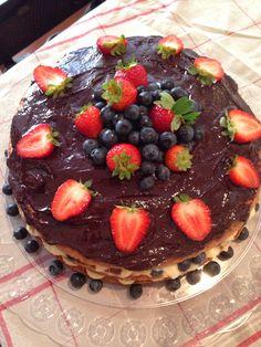 Naked Cake sem glúten!! Receita no blog!