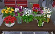 Dara Sims: Flower Set • Sims 4 Downloads
