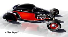Hot Rod Art by Gary Campesi «
