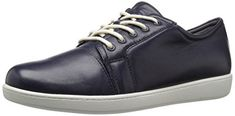 Trotters Womens Arizona Sneaker Navy 9 M US * For more information, visit image link. (This is an affiliate link) Sneakers Fashion, Fashion Shoes, Old West Boots, Women Oxford Shoes, Knit Sneakers, Cute Woman, Wedge Sandals, Adidas Women, Ankle Strap