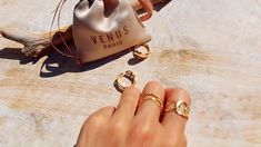 The Queen of Ring Gold Rings, Gemstone Rings, Protective Packaging, Carat Gold, Plating, Women Jewelry, Venus, Silver, Gifts