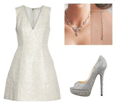 """""""Sin título #272"""" by margarita-gilbon ❤ liked on Polyvore featuring Alice + Olivia and Jimmy Choo"""