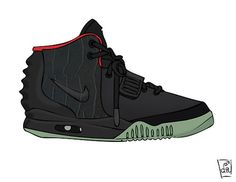 Yeezy 2 by the ill suite #sneakers