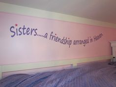 Quote for girls room
