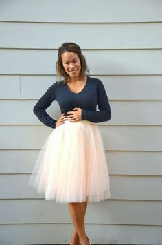 Beautiful tulle skirt from Space 46 Boutique
