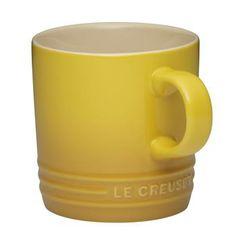 Caneca 350ml Le Creuset Amarelo Dijon - Presentes Criativos