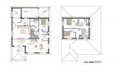 Plan De Maison Moderne. Découvrez Le Plan De Cette Somptueuse Et Lumineuse  Villa Ariane Constructions