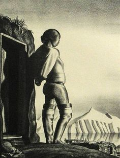 Rockwell Kent, Young Greenland Woman