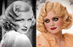 """Then and Now"" #PatrickCameron #Vintage Hair from Spellbound Collection 2013 http://www.patrick-cameron.com"
