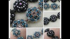 Seed bead jewelry Eden Bracelet ~ Seed Bead Tutorials Discovred by : Linda Linebaugh Beaded Bracelets Tutorial, Beaded Bracelet Patterns, Beading Patterns, Jewelry Making Tutorials, Beading Tutorials, Seed Bead Jewelry, Seed Beads, Bead Earrings, Tutorials