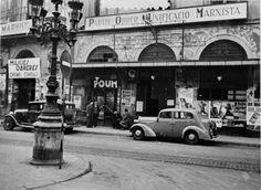 POUM - Façade du localo à Barcelone