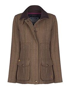 Dubarry Ladies Bracken Tweed Jacket - Cafe | Terrific Tweed ...