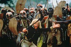 Klaus Kinski (who else?) in Cobra Verde by Werner Herzog (who else?)