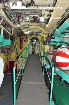 Inside the INS Kursura Submarine Museum, Visakhapatnam
