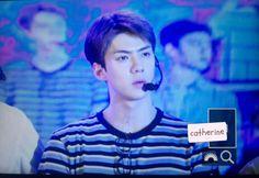 Sehun - 160824 Master Kang fanmeet Credit: Catherine. (康师傅见面会)