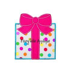 Digital Machine Embroidery Design   Birthday by FairytaleApplique, $3.99