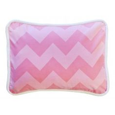 Zig Zag Baby in Pink Sugar Throw Pillow