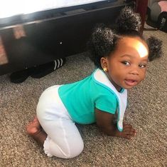 So Cute Baby, Cute Mixed Babies, Cute Black Babies, Black Baby Girls, Beautiful Black Babies, Pretty Baby, Little Babies, Baby Love, Cute Kids