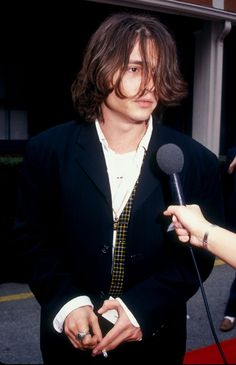 Johnny Depp in the Nineties | Vogue Paris