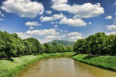 River Nitra, Slovakia.