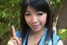 Michelle Phan Rinoa's look from Final Fantasy VIII