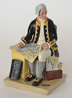 A Royal Doulton figure of Captain Cook D2889