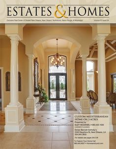 Check out the gorgeous cover of our newest issue of Estates & Homes ...