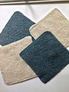 Ravelry: Any Size Any Yarn Garter Square pattern by Holly Terrell