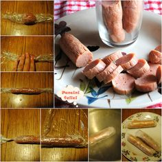 wurstel di pollo fatti in casa