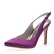 Women's Shoes Satin Stiletto Heel Pointed Toe Pum... – AUD $ 51.47