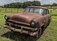 https://flic.kr/p/uTVBkW | Totally Rusted Ford | Found along HWY 105 in Oklahoma near Tryon, Oklahoma.