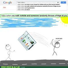 Gotta love weird google searches.