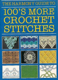 100 stiches crochet - Sharon Yitzhaky - Álbuns da web do Picasa Picot Crochet, Crochet Cross, Crochet Chart, Love Crochet, Learn To Crochet, Beautiful Crochet, Crochet Tutorial, Crochet Instructions, Knitting Books
