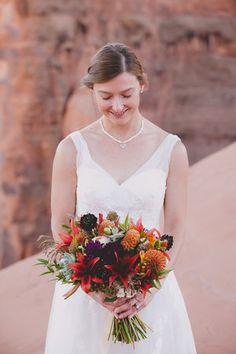 Durango Colorado Wedding Photographers ALexi Hubbell Photography DESERT WEDDING BOUQUET