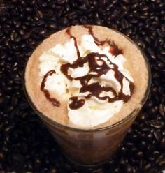 Java Chip Frappuccino - I recommend adding 3/4 cup of ice for 1 serving!